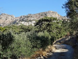 väg road berg mountain vandra vandring hike hiking walk walking crete kreta