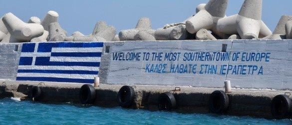 ierapetra sydligaste southern stad city town crete kreta